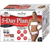 Easy Body 5-Day Plan - 5denn&#237; program pro rychl&#233; sni&#382;ov&#225;n&#237; v&#225;hy
